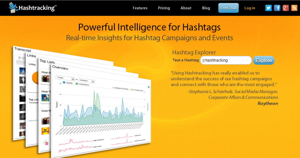hashtracking hashtag monitoring tool