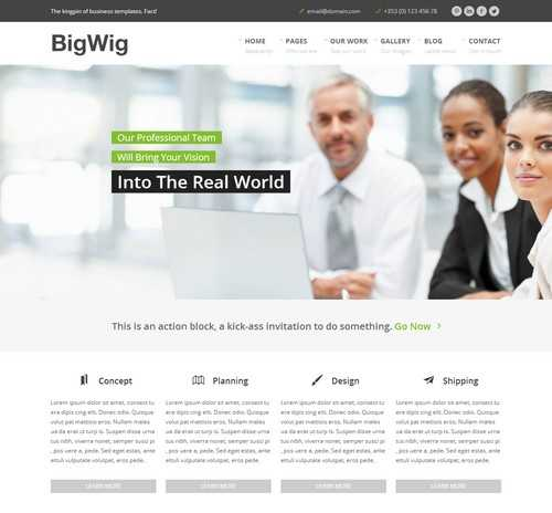 BigWig Modern Theme