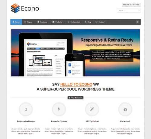 Econo Multi Purpose WP Theme