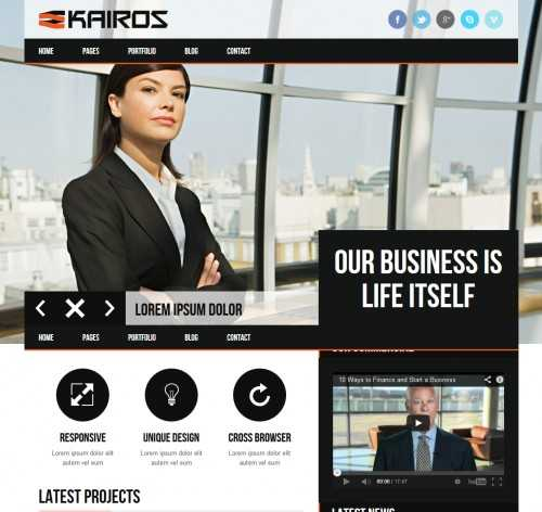 KAIROS WP WordPress Theme