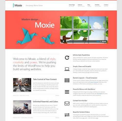 Moxie Responsive Business Theme