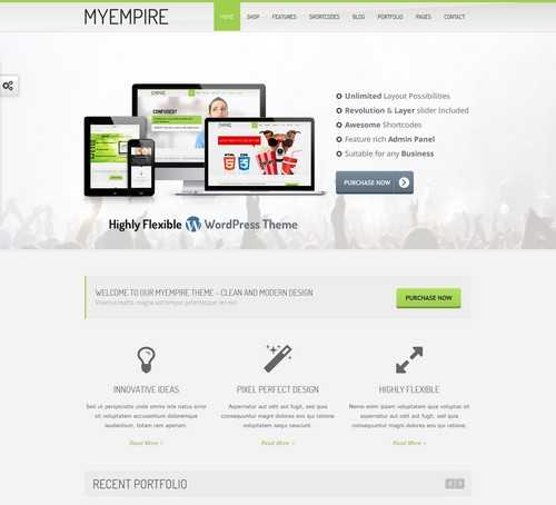 MyEmpire Multi Purpose Theme