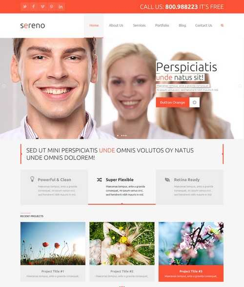 Sereno Woocommerce Corporate Theme