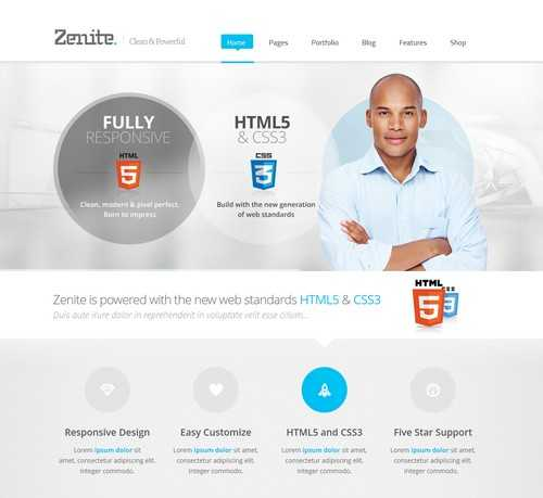 Zenite WP Business Theme