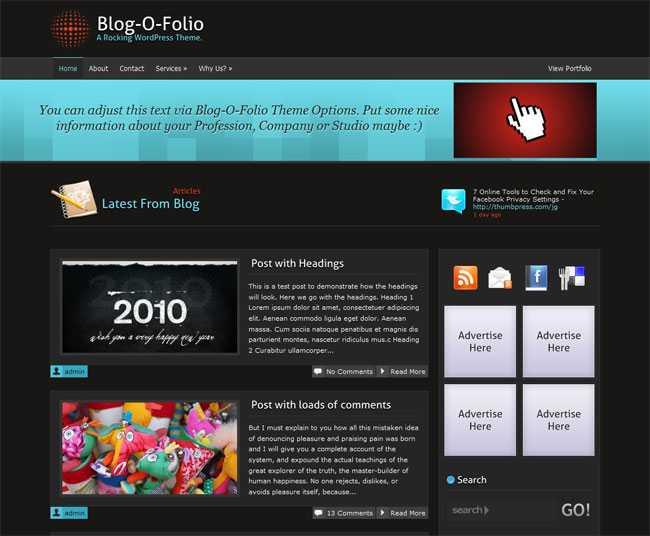 Blog-O-Folio