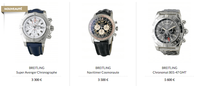 Montres_BREITLING_d_occasion_et_BREITLING_for_Bentley_-_Cresus