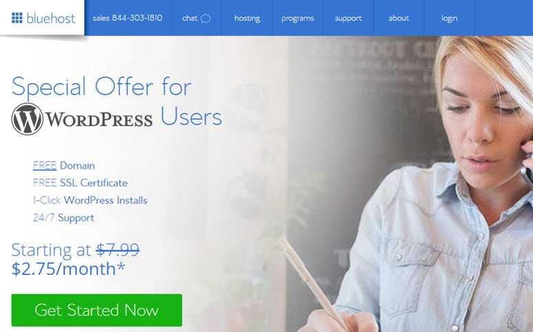 Créer un blog sur Bluehost
